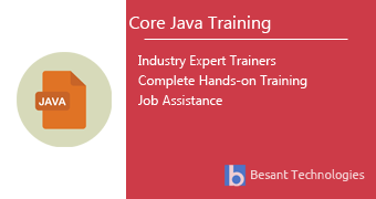 Core Java Training in Pune