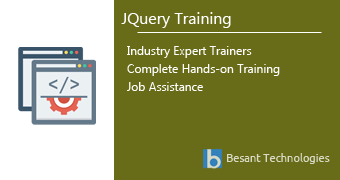 jQuery Training in Pune